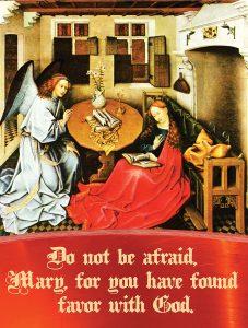 Annunciation - Gospel - English