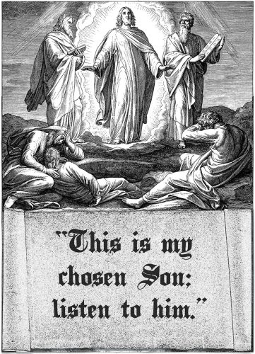 Transfiguration of the Lord - Gospel - English