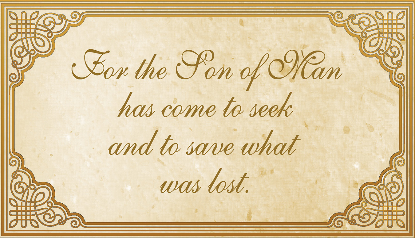 31st Sunday in Ordinary Time - Gospel - English